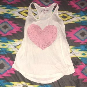 🆕 🍁 PJ Salvage Heart Pajama Tank Top